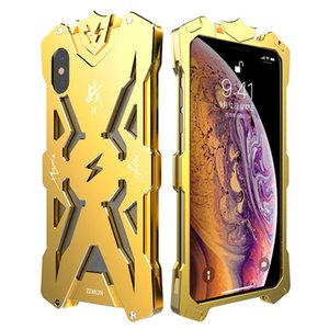 Wholesale Top sale SIMON THOR Metal Bumper Shockproof Case Slim Cover High Quality Aviation Aluminum Phone Case For iPhone X XS XR XS MAX