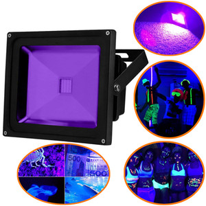 UV Light Black Light, High Power 10W 20W 30W 50W Ultra Violet UV LED Flood Light IP65-Waterproof for Blacklight Party Supplies, Neon Glow
