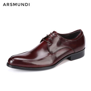 Wholesale Men Genuine Leather Dress Shoes Casual Lace up Business Shoes Men Wedding Botas De Vestir Hombre Unique