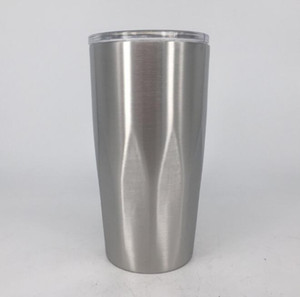Wholesale Stainless Steel Tumbler Vacuum Insulated Double Wall oz Tumbler with clear lids Travel Mug Keep Cold or Hot Drinks