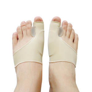 1 Pair The Newest Silicone Hallux Valgus Braces Big Blackmailed Orthopedic Correction Socks Toes Separator Feet Care