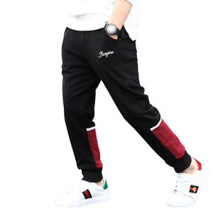 Wholesale Big Boy Pants Spring Teenage Boy Sports Pants Spring Toddler Casual Kids Trousers For Boys Clothes Age Year