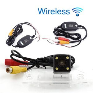 Wireless HD Car Rear View Camera For Ford Focus 2009 2010 2011 Parking Backup Reverse Camera Night Vision Waterproof