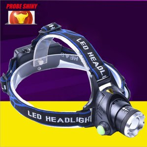 Wholesale New Arrival CREE XML T6 Focus LED Headlamps Lumen Headlight Flashlight Torch Outdoor Sports Battery Charger Hiking Light