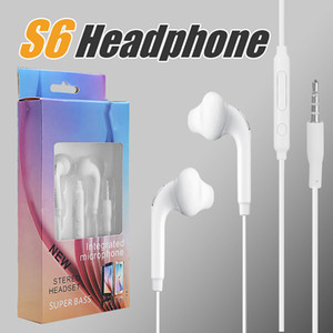 Wholesale For Samsung S6 S5 Earphone In ear mm Headphones J5 In Ear Headset With Mic Remote Volume Control with Retaill Box