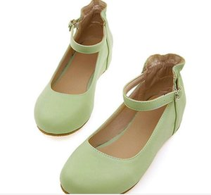 Wholesale Free send Hot Spring and autumn flat bottom Princess shoes women s shoes