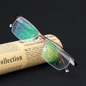 Near And Far multi-focus Eyewear Men women Smart zoom Progressive reading glasses