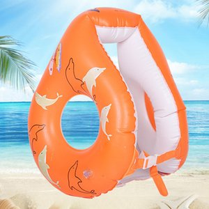 Wholesale Inflatable ring Swimming Inflatable Lifebuoy Buoy pool Flotation For Open Water swimming pool Life buoy