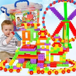Wholesale Factory direct child educational toys large particles building blocks boxed large particles bags