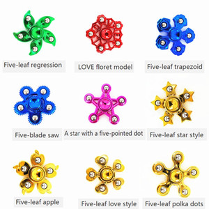 Electroplated steel beads, fingertips, gyro, finger movement, safety, gyro, adult toys, children's toys. on Sale
