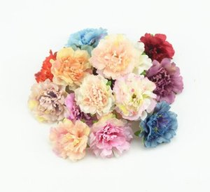 Wholesale Decorative Flowers cm Artificial Silk Flowers Fall Fake Leaf Wedding Home Party Decoration Peony Chrismas Gift
