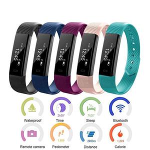ID 115 Smart bracelet The Latest Children Smart Activity Tracker Kids Pedometer Step Counte Style Smart watch