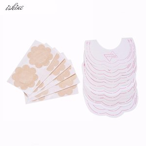 Wholesale Ishine Invisible Strapless Backless Bra Pad Cleavage Enhance Stick Nipple Cover Drop Shipping Bra