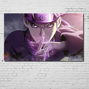 Wholesale COSY MOMENT Cartoon Anime Wall Poster White Coated Paper Prints NARUTO Posters Clear Image Cafe Bar Home Wall Decor Poster QT579