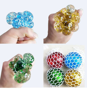 Wholesale 5cm cm Cute Anti Stress Face Reliever Grape Ball Autism Mood Squeeze Relief Healthy Toy Funny Gadget Vent Decompression toys66