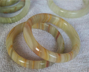 Wholesale Chinese Natural Beautiful Afghanistan Jade Bangle Hand Carved Jade Bracelet mm