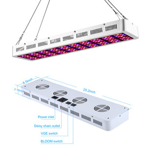 1000W 600W Full Spectrum LED Grow Light Hydroponics Indoor Plants, LED Grow Lamp indoor garden lights for Hydroponic Systems Stock IN USA