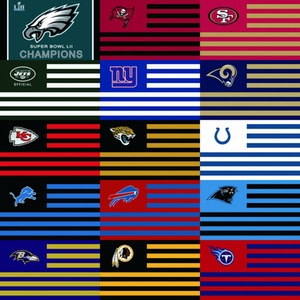 [Good Flag]Team Flags 3X5FT 150X90CM 100% Polyester,Canvas Head with Metal Grommet,Used Indoors or Outdoors