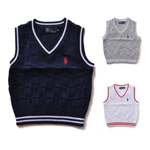 Wholesale 2019 High Quality Fashion New Brand kids Sweater baby clothes Spring autumn winter Boys And Girls Children polo outerwear Sweaters 007