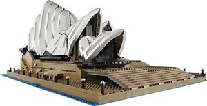 30002 children's building block puzzle toy building model city series Sydney opera house