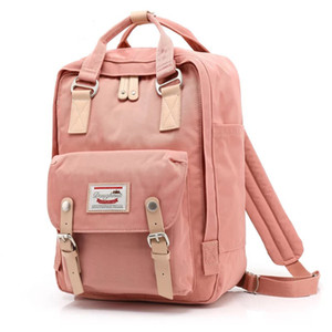 Doughnut 2018 Pink Women Girls Backpacks Kanken Students Travel Bags Casual School Bags Mochilas Rucksuck Y1890401 on Sale