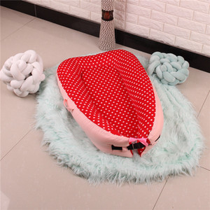 Wholesale Newborn Bed Crib Cot Portable Baby Nest Bed BB Sleeping Artifact Travel with Bumper Baby Sleep Pad