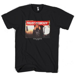 Wholesale Tupac pac Shakur Me Against The World Trust Nobody Graphic Man Woman T Shirt Funny Unisex Casual tee gift top
