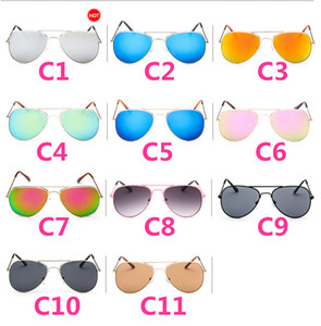 Wholesale 20PCS Kids Sunglass Children Beach Supplies Sunglasses Childrens Fashion Accessories Sunscreen baby for boys Girls awning kids Glasses
