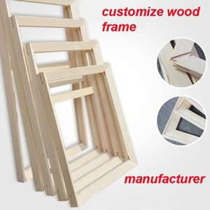 Wood frame stripfor canvas oil painting nature wood frame strip DIY Custom picture frame