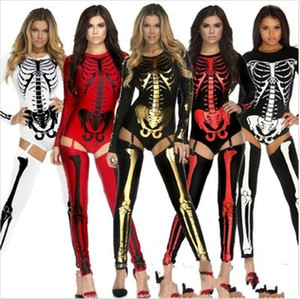 Vampire Bride Witch Woman Queen Halloween Cosplay Clothing Human Skeleton Zombie Uniforms Nightclub DS Performance Good Quality 49 4dd dd