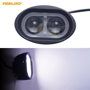 Wholesale FEELDO W Vehicle SUV Car LED Work Light Offroad Lights Spot Beam Led Chips Flood Spot Driving Lamp Sportlight DC V V