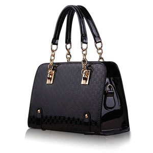 Fashion Women Handbag Shoulder Bags PU Leather Ladies Messenger Hobo Bag Female Black Shopping Tote Purse Bag