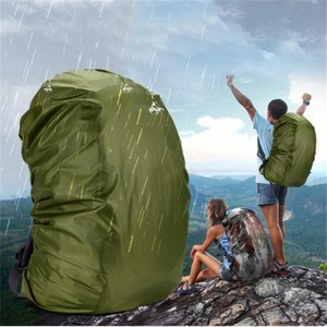 Wholesale 1pcs Nylon Army Green Camouflage RainCover For Bags L Lightweight Waterproof Backpack Bag Rain Cover For Travel Cycling Bag