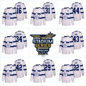 Wholesale 2018 Stadium Series Jersey 31 Frederik Andersen 22 Nikita Zaitsev 46 Roman Polak Mens Womens Youth Toronto Maple Leafs Custom Hockey Jerseys