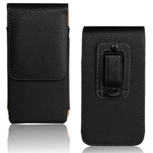 Wholesale for iPhone s Universal Belt Clip PU Leather Waist Holder Flip Pouch Case for iPhone s s