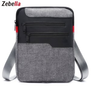 Wholesale Casual Mens Messenger Shoulder Bag For iPad Satchel Nylon Travel Business Briefcase Chest Pack Handbag Sacoche Homme Hot Sale Bag