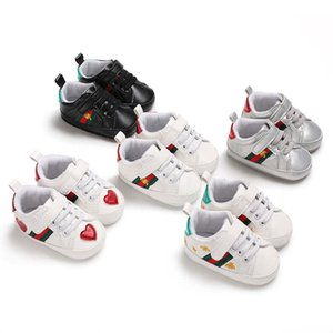 Wholesale Retail Spring and Autumn Sport Baby Shoes Newborn Boys Girls First Walker Shoes Infant Prewalker Shoes C