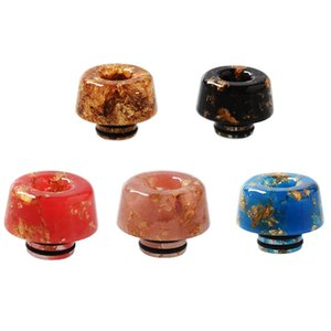 Wholesale drip tip seals resale online - Epoxy Resin Drip Tip Gypsophila Cone Vape Wild Mouthpiece For TFV8 Atomizers Sealed Promotion