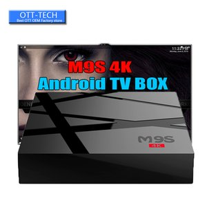 Wholesale Factory New M9S K Android TV Box RK3229 Set Top Box K Ultra HD Quad core Streaming Media Player Support WiFi BET MXQ PRO K