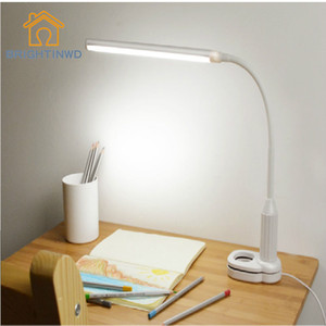 Wholesale BRIGHTNWD Clip Lamp Led Eye Reading Lamp Student Reading Bedroom Gift Table Lamps Bedroom Led Light With Switch