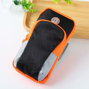 Wholesale Polyester Material Sport Armband On Hand Phone Case Gym Running Pouch Arm Band For inch Mobile Phone Holder Bag