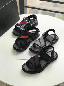 2018 New list decorative metal luxury flat heel men and women shoes open-toed genuine leather personality gladiator y- 3 sandals