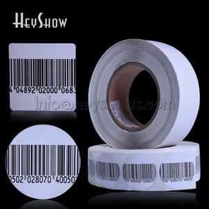10000x Security 8.2mhz RF Soft Tag Anti Theft EAS Label Retail Alarm barcode Sticker For Shop Supermarket Mall 40*40mm