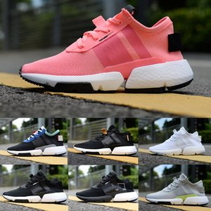 Wholesale 2018 new Originals POD S3 Boot Triple White black Blue pink Mens women sports shoes Sneakers Running Chaussures Designer Trainers Zapatos