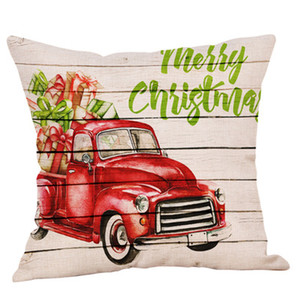 Wholesale car covers for sale for sale - Group buy Hot sale Christmas tree Pillow cases cotton car cushion cover cartoon pillow case for pillow Family car products