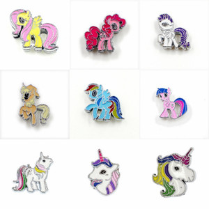 Wholesale 8mm sliding charms for sale - Group buy New Arrival Mix Styles mm Unicorn Horse Slide Sharms Wristband Charms Fit mm Dog Cat Pet Collar Wristband Bracelet