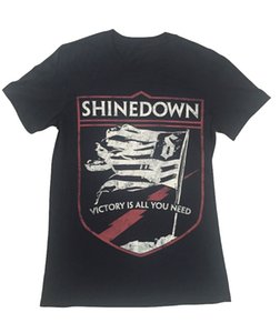 Wholesale Shinedown Threat To Survival World Tour Europe Official Mens T Shirt O Neck Sunlight Men T Shirt top tee