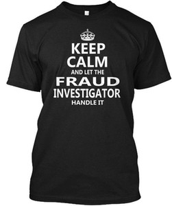 Fraud Investigator Keep Calm Hanes Tagless Tee T-Shirt