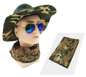 New Tactical Scarf Face Veil for Hunting Airsoft Ski Multi Prupose Scrim Scarf summer mesh hiking sports scarf