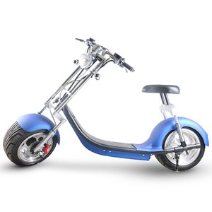 Wholesale free shipping to europe eec coc 1000w 60v 20ah lithium battery electric citycoco scooter scrooser dogebos taxes custom duty paid